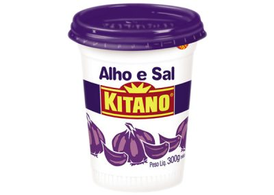 Condimento ajo y sal