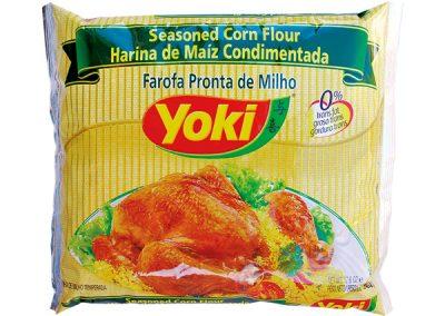 Harina de maíz condimentada