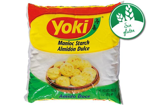 Resultado de imagen de almidón dulce de yuca