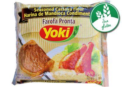 Harina de yuca condimentada