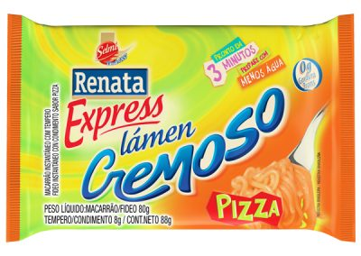 Pasta instantánea sabor pizza
