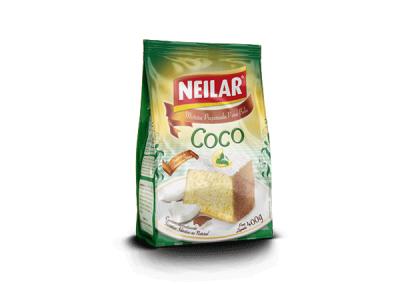 Preparado para bizcocho de coco