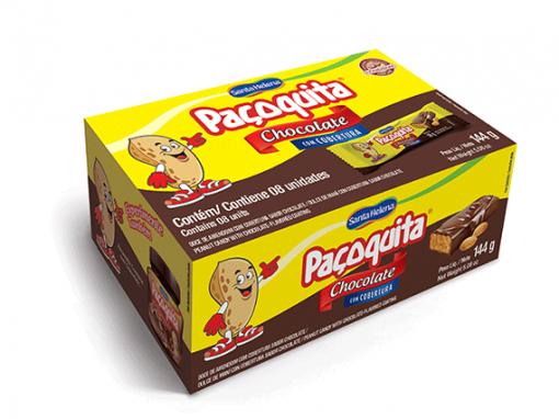 Dulce de cacahuete con cobertura de chocolate