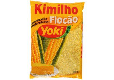 Harina de maíz en copos