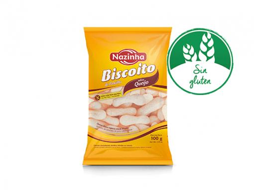 Galleta de almidon de yuca sabor queso