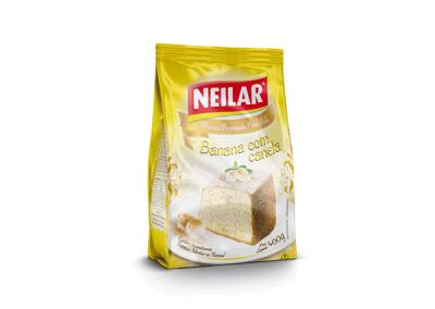 Preparado para bizcocho sabor Plátano con Canela