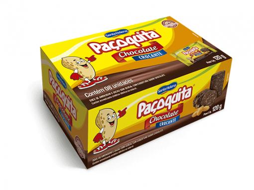 Dulce de cacahuete cubierto con chocolate crujiente